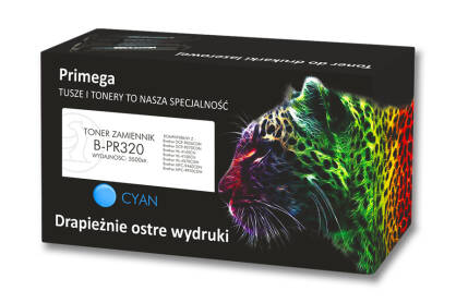 Toner zamiennik do Brother TN-320 cyan