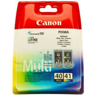 Tusz oryginalny Canon PG-40/CL-41 Multi-pack (CMYK)
