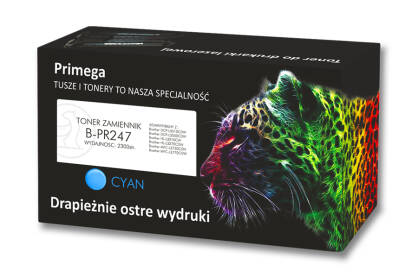 Toner zamiennik do Brother TN-247 Cyan