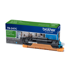 Toner oryginalny do Brother TN-247 Cyan