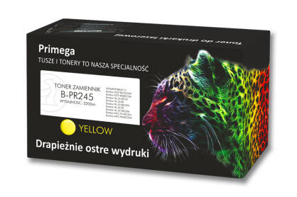 Toner zamiennik do Brother TN-245 Yellow