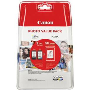 Tusz oryginalny Canon PG-545XL/CL-546XL Multi-pack (CMYK)